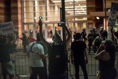 Protestation de rassemblement d'atout de Phoenix Images libres de droits