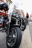 Protestation des clubs de moto Oslo Photo libre de droits