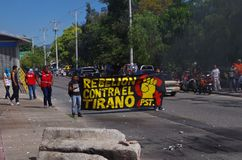 Honduras protest against goverment Tegucigalpa 27 de Enero 2019 2