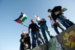 Protestation march de Jérusalem images stock