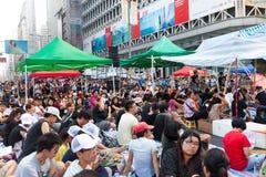 Protestation pro-démocratique en Hong Kong 2014 Images stock