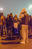 Protestation roumaine 06/11/2015, Bucarest photographie stock