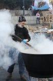 Protestations à Kiev. Ukraine Photographie stock libre de droits