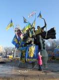 Protestations à Kiev. Ukraine Image stock