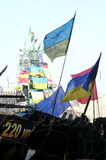 Protestations à Kiev. Ukraine Photographie stock