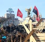 Protestations à Kiev. Ukraine Image libre de droits