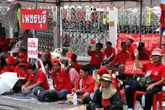 Protestations de la Thaïlande photos stock