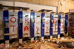 Protestations en Turquie, 2013 Images stock