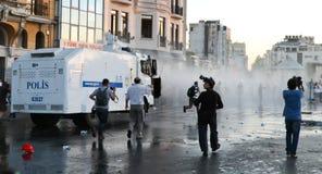 Protestations en Turquie Image stock