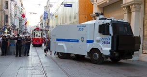 Protestations en Turquie Photos libres de droits