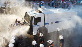 Protestations en Turquie Photographie stock