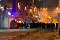 Protestations en Turquie Images stock