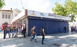 Protestations en Turquie Images libres de droits