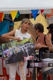 Proteste del 19 giugno Barcellona Immagine Stock Libera da Diritti