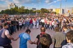 Proteste del parco di Gezi a Costantinopoli Fotografie Stock