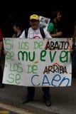 Proteste di Barcellona Fotografia Stock Libera da Diritti