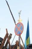 Proteste a Kiev. L'Ucraina Fotografia Stock Libera da Diritti