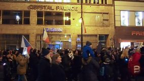 Proteste in Prag