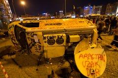 Proteste in Turchia Fotografie Stock