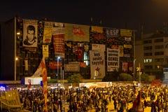 Proteste in Turchia Immagini Stock Libere da Diritti