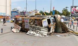 Proteste in Turchia Fotografia Stock