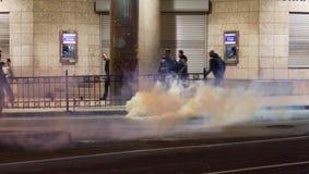 Proteste in Turchia Fotografie Stock Libere da Diritti