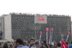 Proteste in Turchia nel giugno 2013 Immagini Stock Libere da Diritti