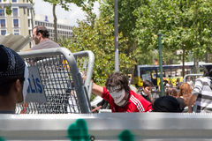 Proteste in Turchia nel giugno 2013 Fotografie Stock