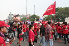 protesten går Royaltyfri Foto