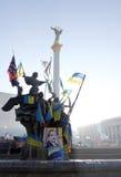 Protesten in Kiev. De Oekraïne Royalty-vrije Stock Foto's
