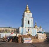 Protesten in Kiev. De Oekraïne Royalty-vrije Stock Foto