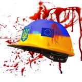 Protesten in Kiev. De Oekraïne Stock Afbeelding