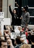 Protesten samlar Royaltyfria Foton