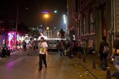 Protesten in Turkije, 2013 Stock Foto's