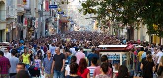 Protesten in Turkije Royalty-vrije Stock Foto's