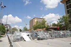 Protesten in Turkije in juni 2013 Royalty-vrije Stock Afbeelding