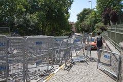 Protesten in Turkije in juni 2013 Stock Foto's