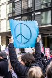 March for Our Lives Seattle royalty free stock photo