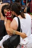 protester för 19j barcelona Royaltyfria Foton