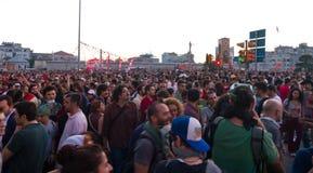 Protester i Turkiet Arkivbilder
