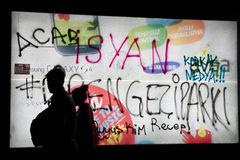 Protester i Turkiet, 2013 Royaltyfria Foton