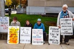 Protestera i Lewisburg Fotografering för Bildbyråer