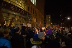 Protestera reseförbud för muselman för trumf` s Royaltyfri Foto