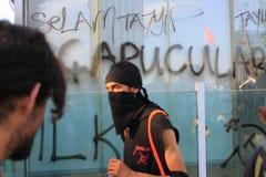 Protesterare arkivfoton
