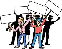 Protesters Stock Images