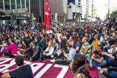 protesters Stockfoto