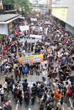 Protesters Demand Dissident Death Probe in H.K. Stock Image