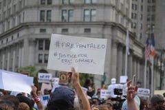 Eric Garner protest in New York City stock photos