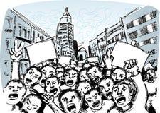 Protestierender Lizenzfreie Stockfotos