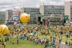 Protestierender in Brasilien, Brasilien Stockfoto